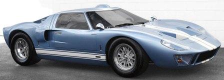 Mk I 289 (replica here) & Ford GT40 markmcfarlin.com