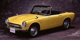 Beautiful Honda S500 / S600 / S800 (1963)