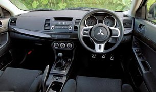 more space ride comfort and refinement makes evo x closer to the previous bmw m3 however interior quality is no bmw