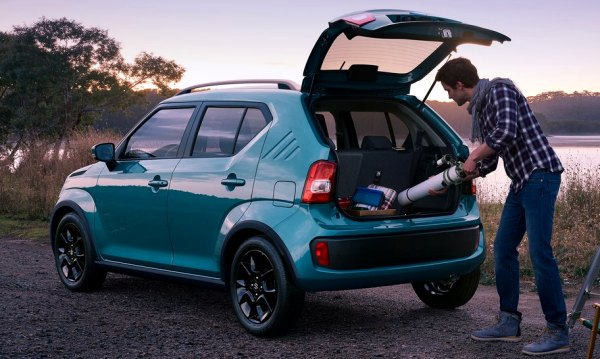The Thick C Pillar With Its Triple Bar Recess Is Not Inspired By Addidas Logo But 1971 Suzuki Cervo Overall Ignis Looks Funky Yet Special